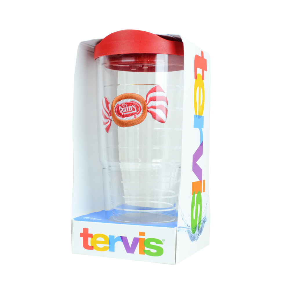 Stocking Stuffers, American Made Gifts, Caramel Creams TERVIS Travel Hot Cold Cup Tumbler
