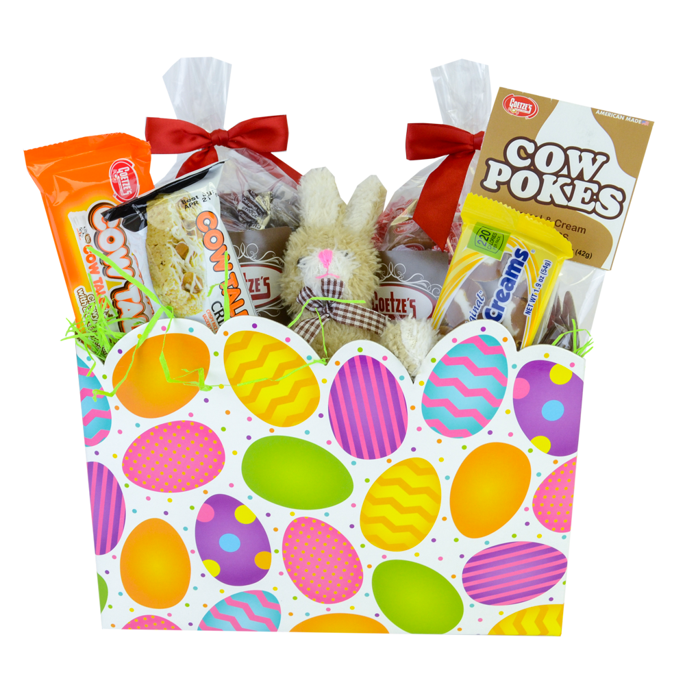 Order Easter Candy Gifts • Goetze's Caramel Creams Cow Tales Easter Egg Gift Box