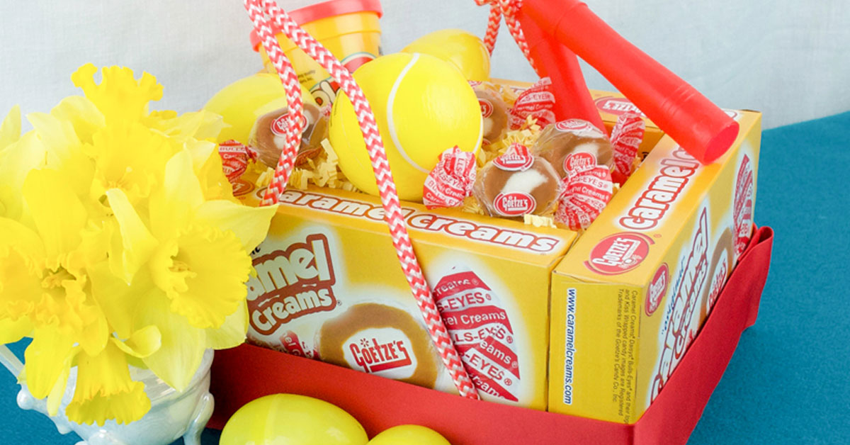 How to make a candy box Easter basket.