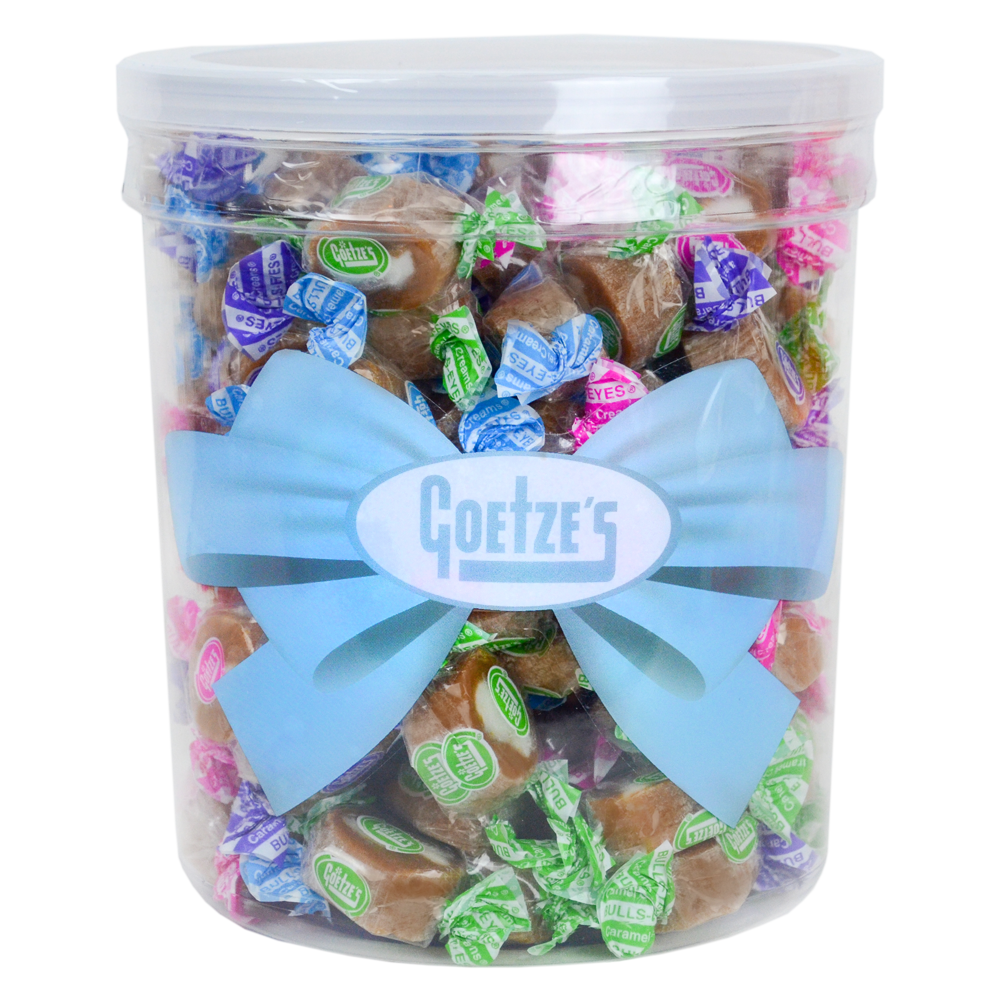 Caramel Creams Easter Spring Candy Colors Party Tub