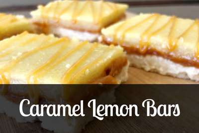 Caramel Lemon Bars Recipe